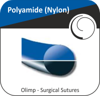 Polyamide (Nylon) blue or black